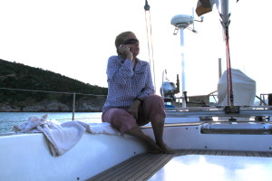 Calling Home from the Boat
