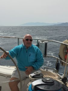 Tom at the helm of Pakilar